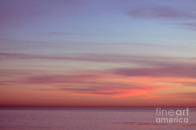 Pink Sunset Art Print by Ana V Ramirez