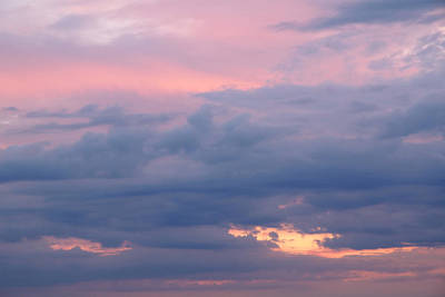 Photograph - Pink Sunset by Gill Billington