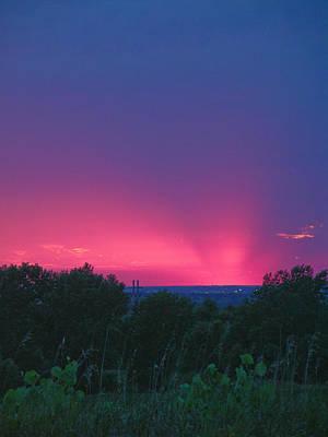 Photograph - Pink Sunset by Martha Johnson
