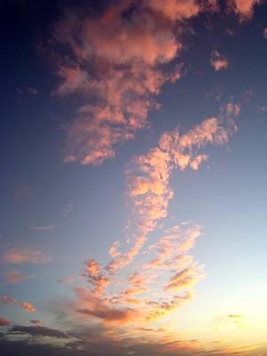 Pink Sunset One Art Print by Ana Villaronga