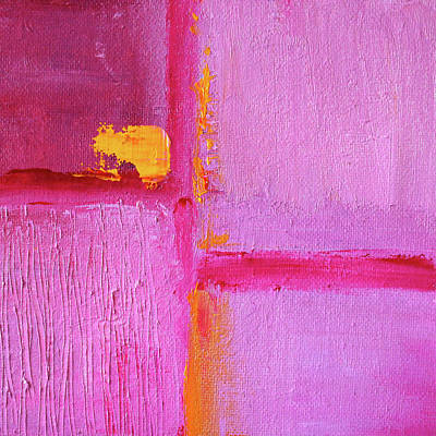 Painting - Pink Sunshine by Nancy Merkle