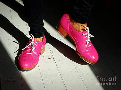 Photograph - Pink Tap Shoes by Lainie Wrightson