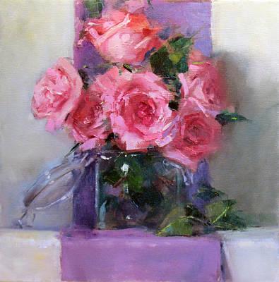 Pink Tease Art Print by Chris  Saper