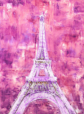 Painting - Pink Tower by Elizabeth Lock