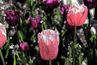 Photograph - Pink Tulip by Donna G Smith