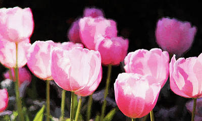 Photograph - Pink Tulips by Reynaldo Williams