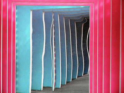Photograph - Pink Tunnel 3 by Ron Kandt