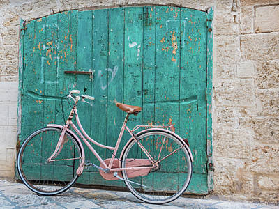 Photograph - Pink Turquoise Locorotondo by Robin Zygelman