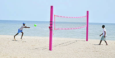 Photograph - Pink Volley by Keith Armstrong