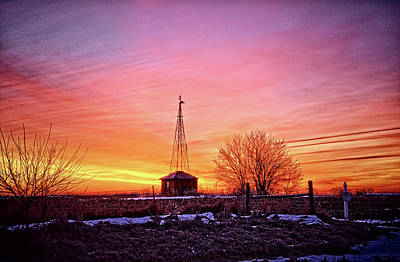 Photograph - Pink Winter Morning by Bonfire Photography