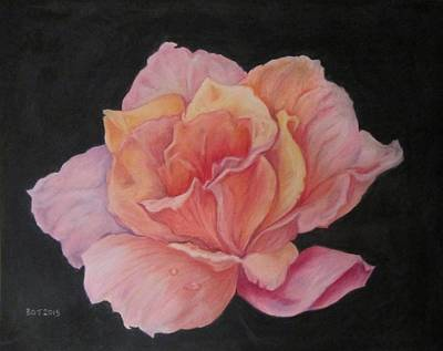 Pinky Art Print by Barbara O'Toole