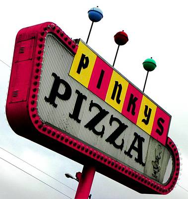 Pinky Is My Name And Pizza Is My Game Art Print