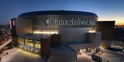 Photograph - Pinnacle Bank Arena by Mark Dahmke