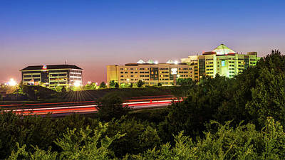 Photograph - Pinnacle Hills Cityscape - Rogers - Northwest Arkansas by Gregory Ballos