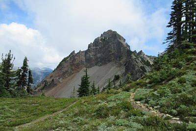 Photograph - Pinnacle Peak by Karen Molenaar Terrell