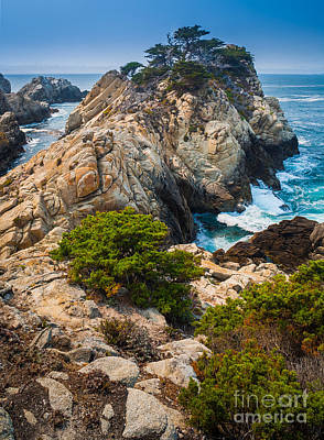 Point Lobos Photograph - Pinnacle Point by Inge Johnsson