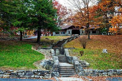 Pinnacle Rock State Park In Autumn Art Print by Mountain Dreams