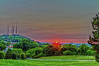 Photograph - Pinnacle Sunset by William Norton