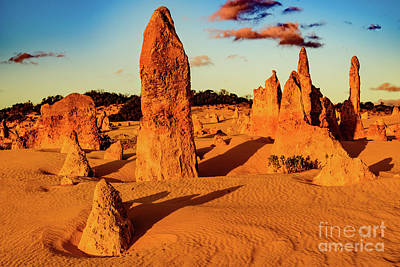 Photograph - Pinnacles 7 by Werner Padarin