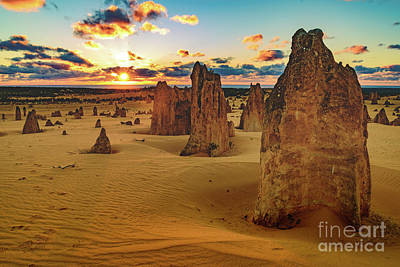 Photograph - Pinnacles 8 by Werner Padarin