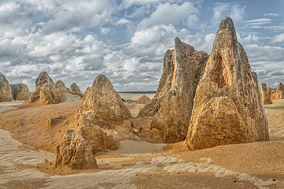 Photograph - Pinnacles Landscape by Martin Capek