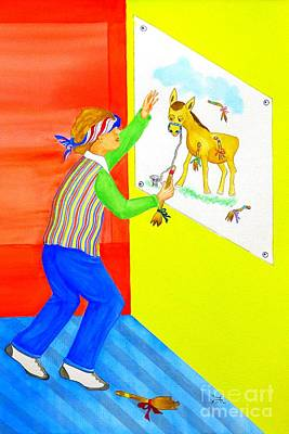 Pinning The Tail On The Donkey Original by Puente