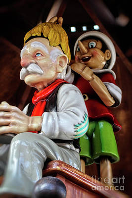 Photograph - Pinocchio And Geppetto Art by Doc Braham