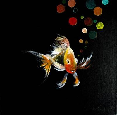 Painting - Pinocchio by Jun Jamosmos