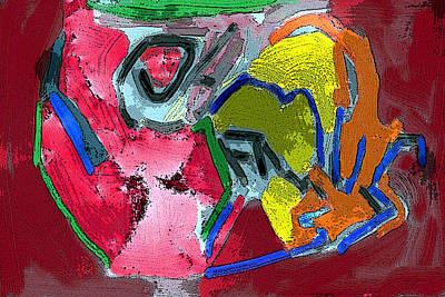 Pintura Moderna 1 Art Print by Carlos Camus