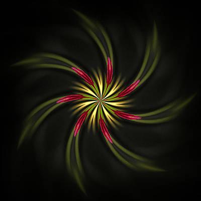 Digital Art - Pinwheel by Cyndy Doty