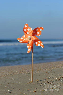 Photograph - Pinwheel On A Beach by George Atsametakis