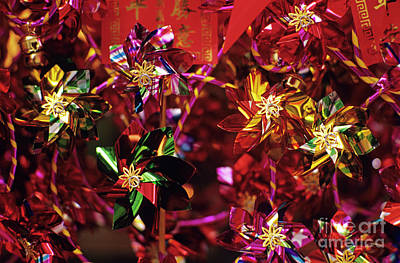 Photograph - Pinwheels In Front Of Merchants Store In Chinatown by Jim Corwin