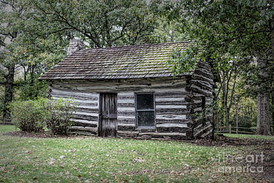 Photograph - Pioneer Cabin by Lynn Sprowl