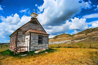 Photograph - Pioneer Church 1 by Lawrence Christopher