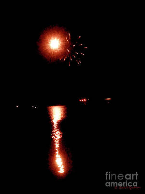 Photograph - Pioneer Day Fireworks I by Dale E Jackson