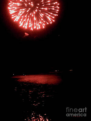 Photograph - Pioneer Day Fireworks II by Dale E Jackson