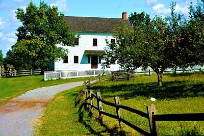 Pioneer Farm House Art Print by Richard Jenkins