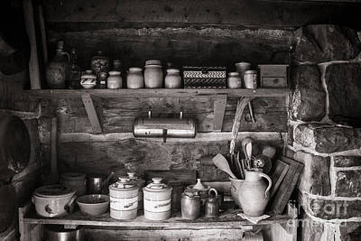Photograph - Pioneer Herbs, Spices And Crockery by Steven Parker