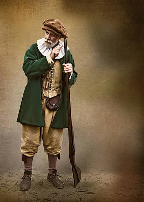 Photograph - Pioneer Man by Maria Coulson