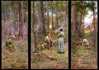 Pioneer Woman Painting - Pioneer by Pg Reproductions