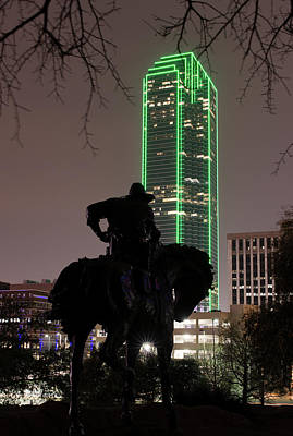 Photograph - Pioneer Plaza Dallas 3117 by Rospotte Photography