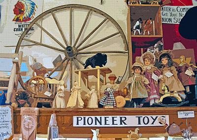 Toy Shop Digital Art - Pioneer Series 5 by Steve Ohlsen
