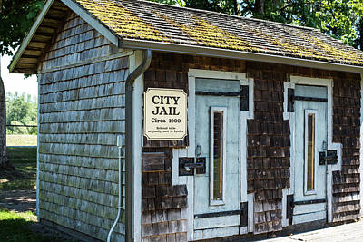 Photograph - Pioneer Village City Jail by Tom Cochran