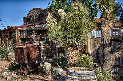 Digital Art - Pioneer Village Store by Georgianne Giese