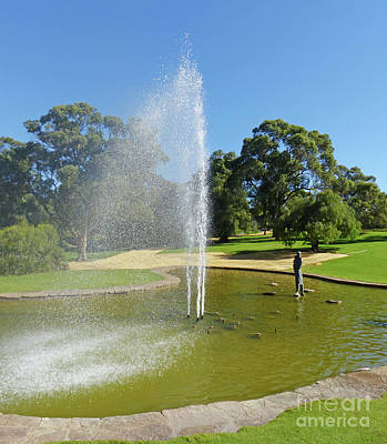 Photograph - Pioneer Women's Fountain - Kings Park by Phil Banks