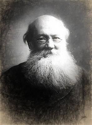 Piotr Kropotkin Art Print by Joaquin Abella