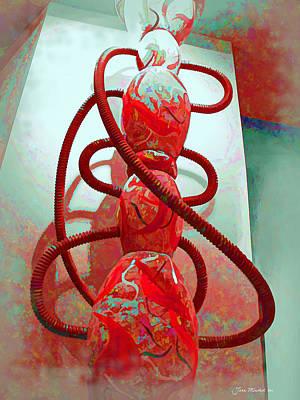 Pipe Dreams Art Print by Joan  Minchak