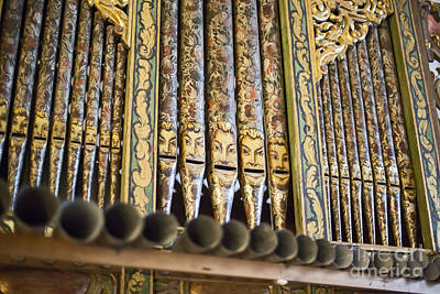 Photograph - Pipe Organ by Jim West