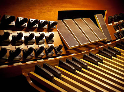 Pipe Organ Pedals Art Print