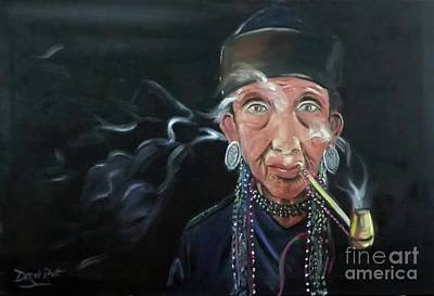 Staff Picks Judy Bernier - Pipe Smoker by Derek Rutt